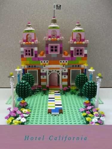 Lego Friends Hotel California Lego Friends Pinterest