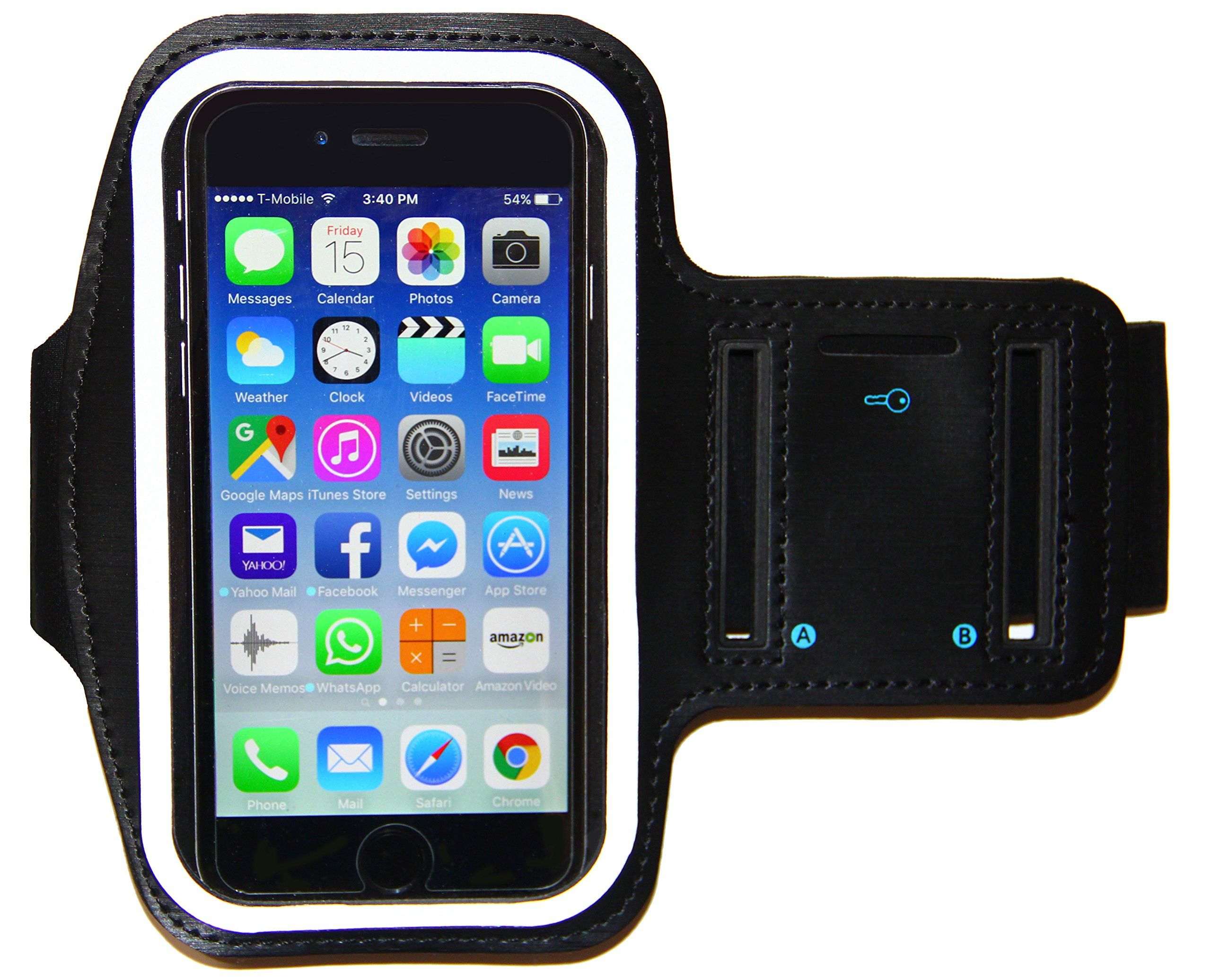 buy popular fadf5 bc955 iPhone 8 7 6 6S Armband - Running & Exercise Sportband (4.7-inch ...
