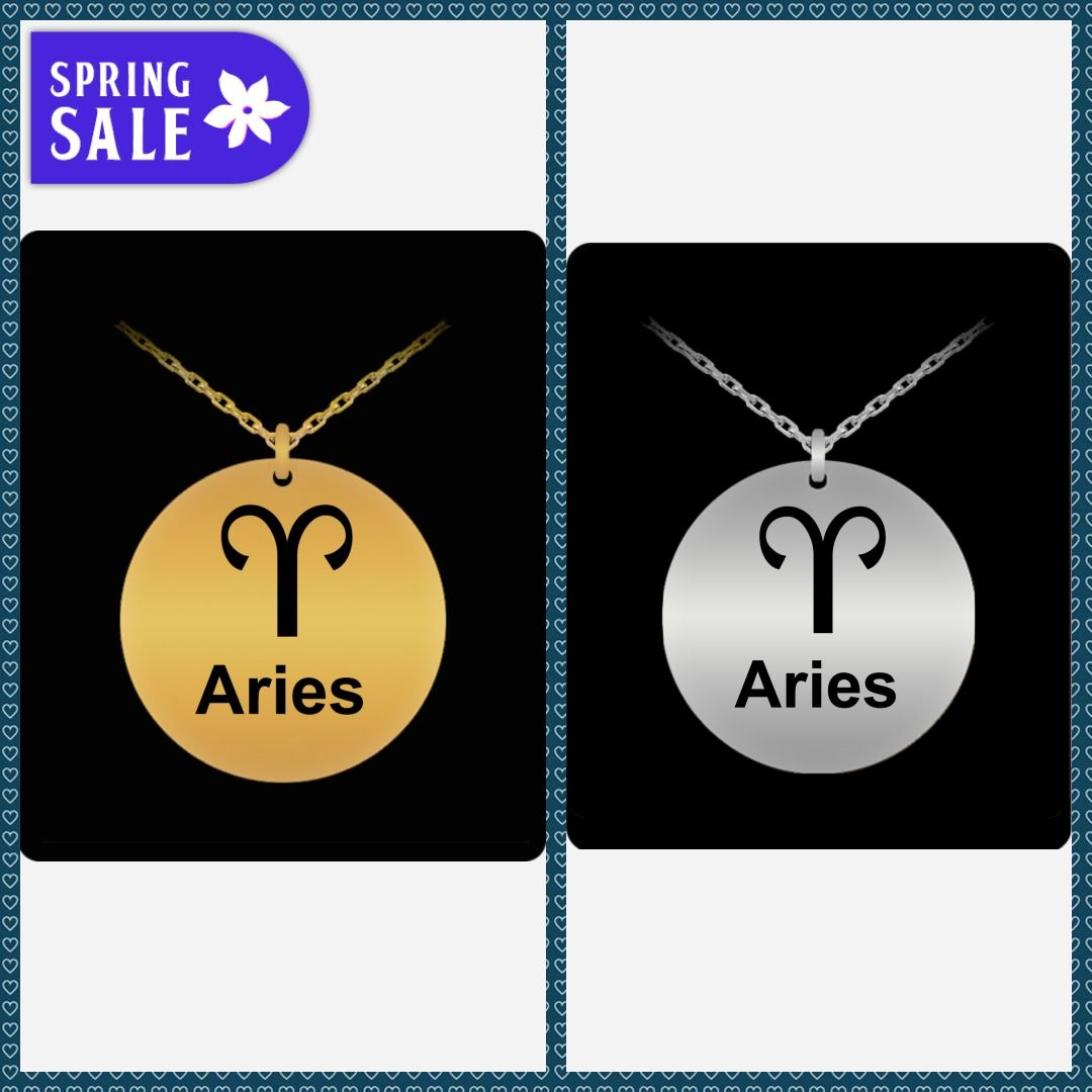 925 Sterling Silver Aries Zodiac Sign Charm So Chic Jewels
