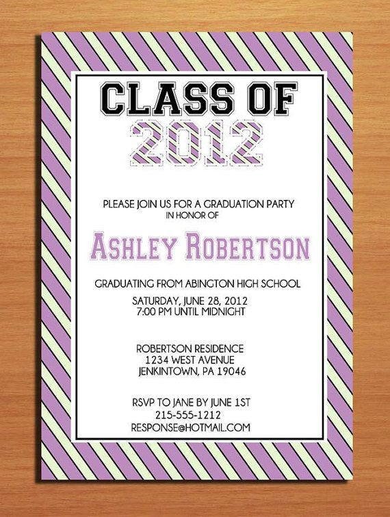 Free Printable Graduation Party Invitations Templates Invitation