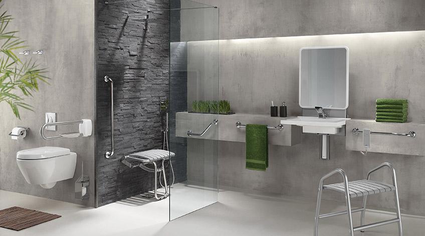 am nagement salle de bain pour personnes handicap es et seniors salle de bain am nagement. Black Bedroom Furniture Sets. Home Design Ideas