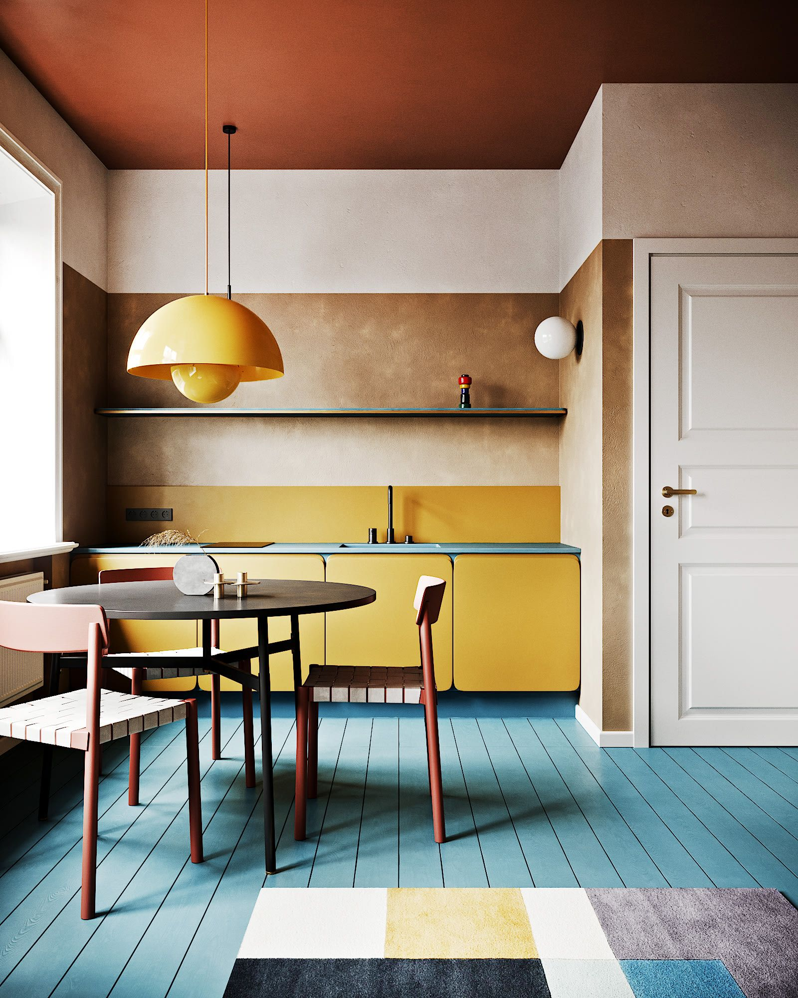 6 Tips For A Kitchen You Can Love For A Lifetime: Colorful Kitchens Are A Trend You Should Definitely Buy
