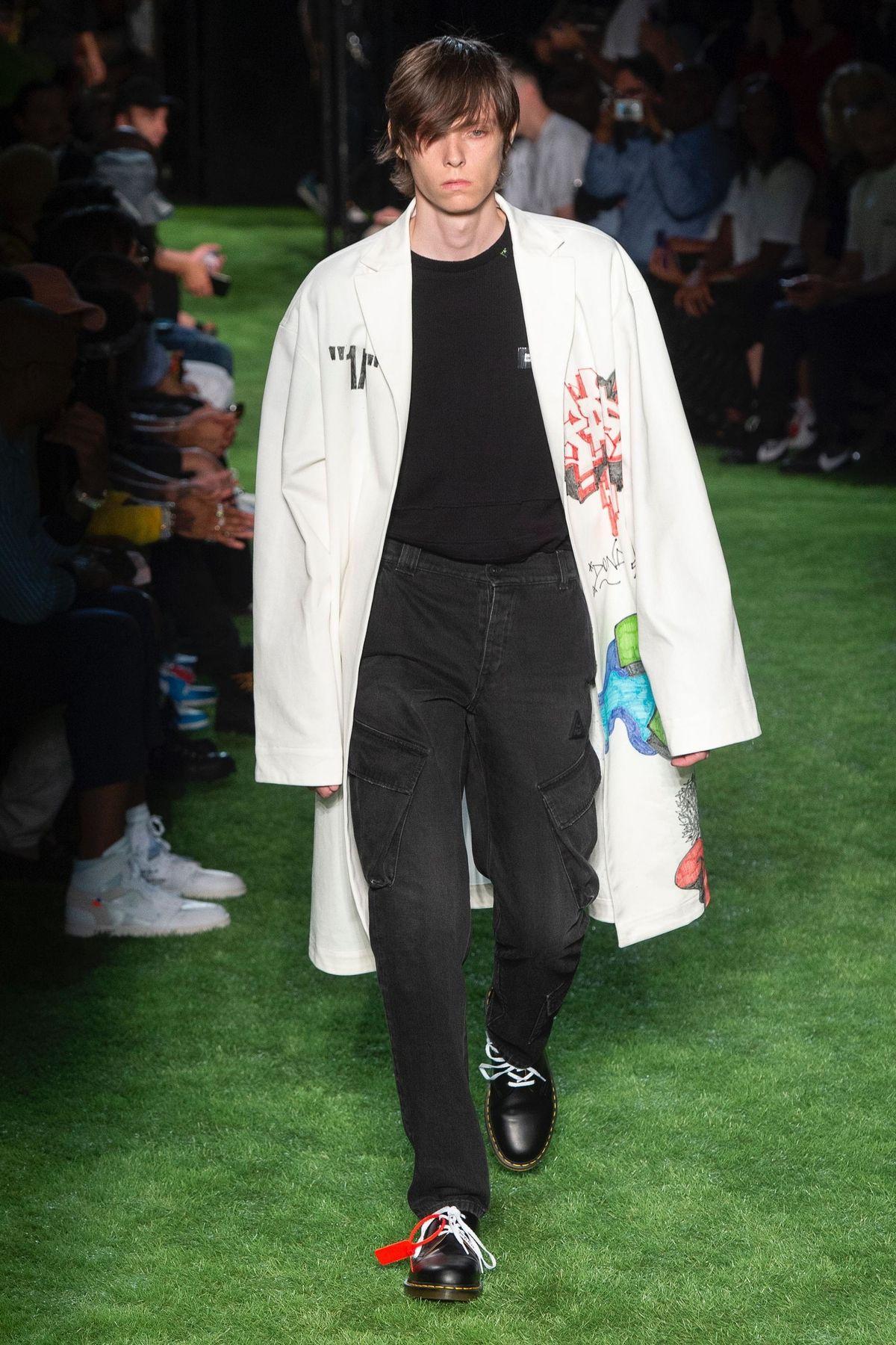 Defile Off White Printemps Ete 2019 Fashion2019 Menswear