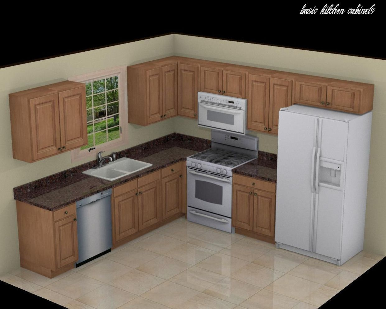 10 Common Myths About Basic Kitchen Cabinets In 2020 Simple Kitchen Design Simple Kitchen Cabinets Kitchen Design Diy