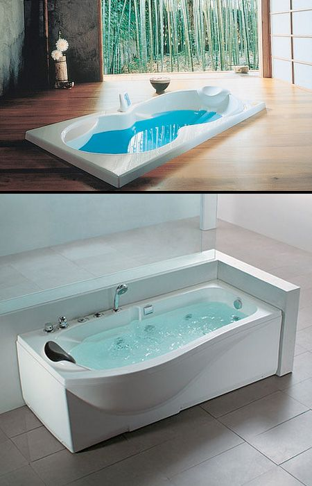 30 bathtubs designs ideas to make your bathroom luxurious for Bathroom jacuzzi ideas