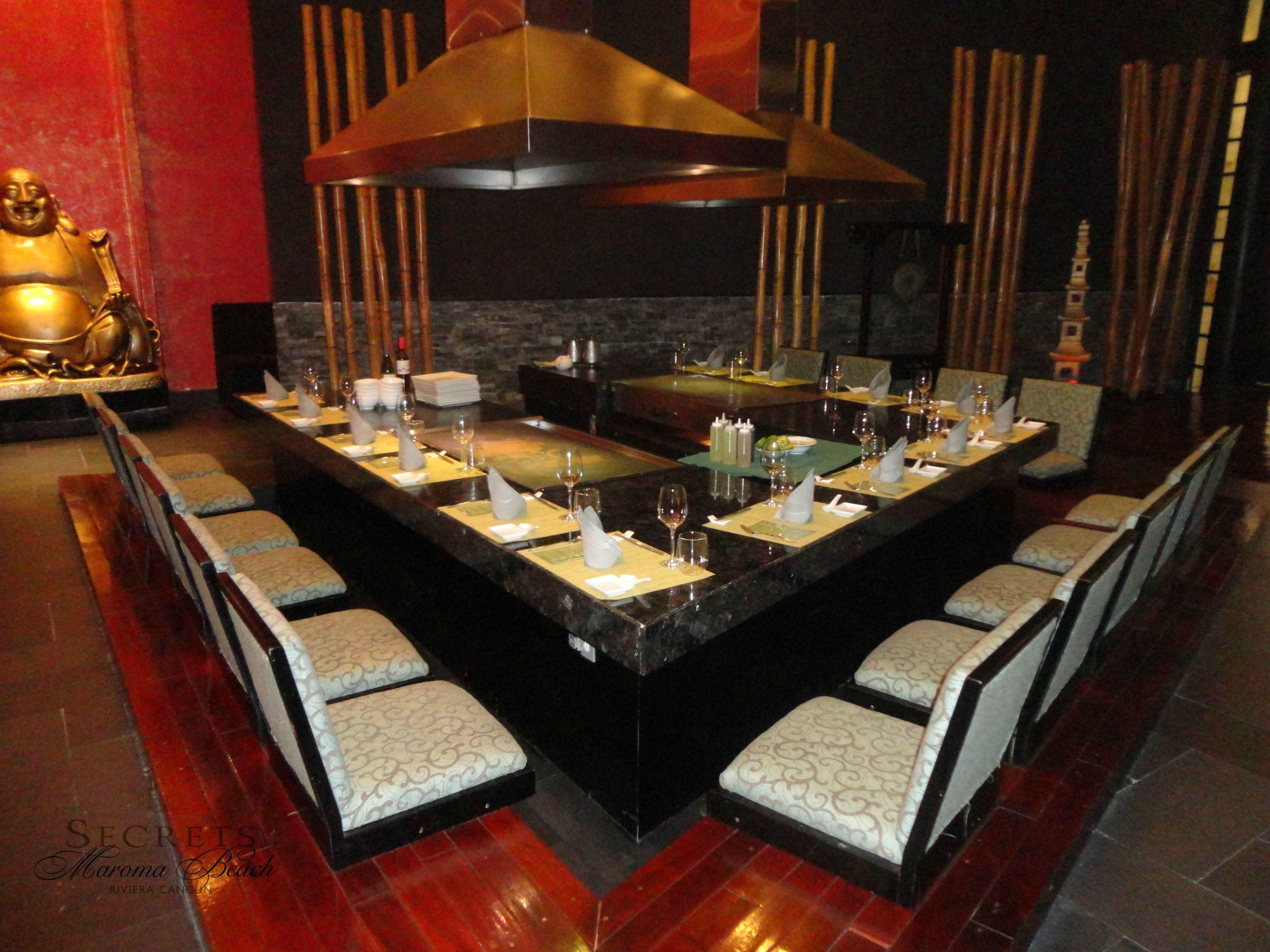 Our Beautiful Himitsu Restaurant Secrets Maroma Beach Resort Spa