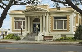 "Lompoc, California's old Carnegie building, one of seven Classic Revival Carnegies designed by William Weeks in the ""temple style,"" is now an historical and archeological museum. It was designated Lompoc Historical Landmark No. 1 and was placed on the National Register of Historic Places in 1990. Opened in 1911."