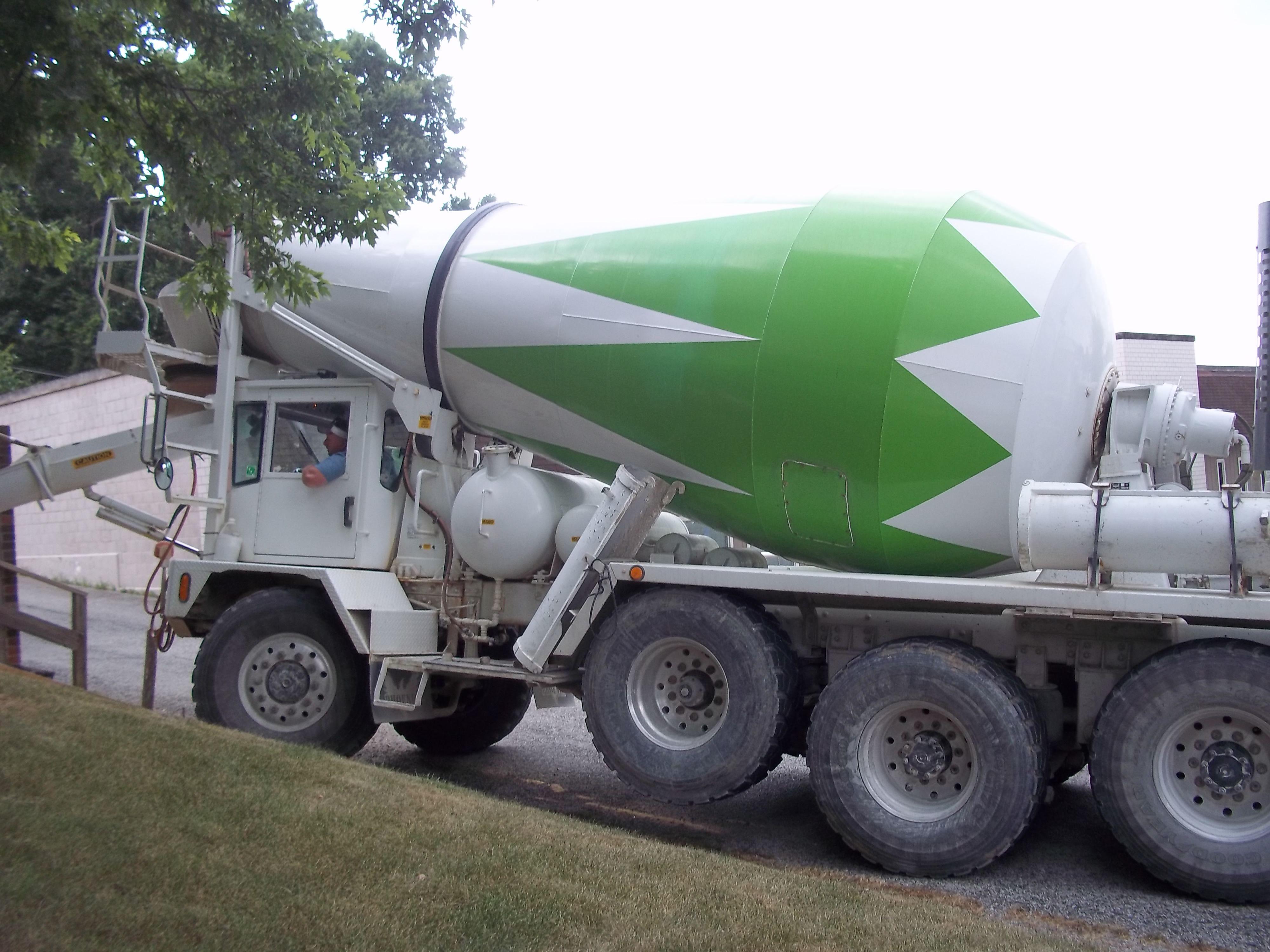 Tri Axle Phoenix Concrete Mixer My Truck Pictures