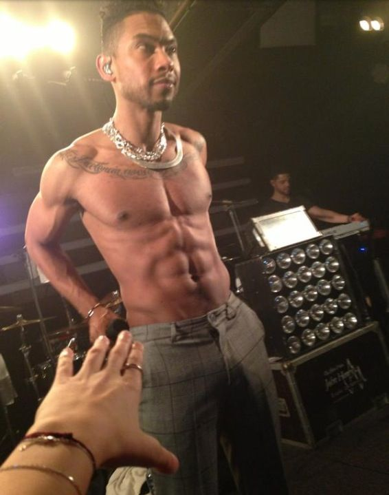 Image result for miguel shirtless