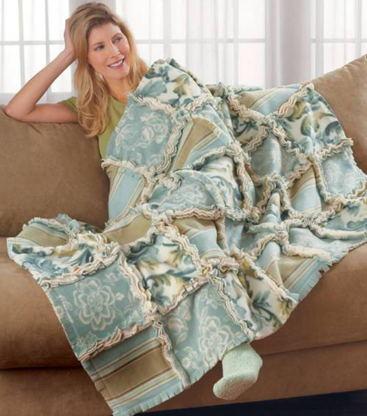 Fleece Ragged Quilt Sewing Projects At Joann