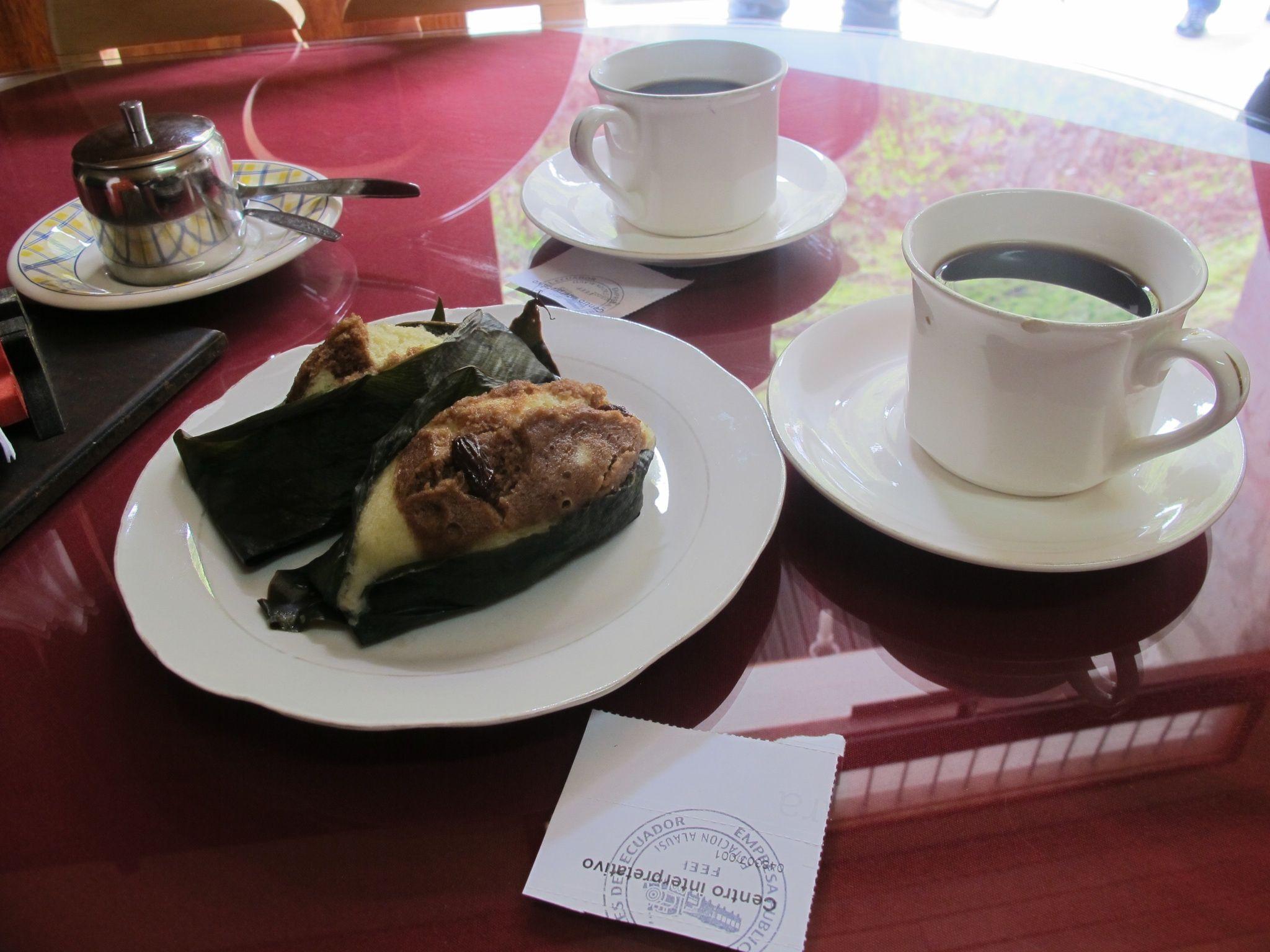 Day 2: Food (Quimbolitos & Coffee in Ecuador)