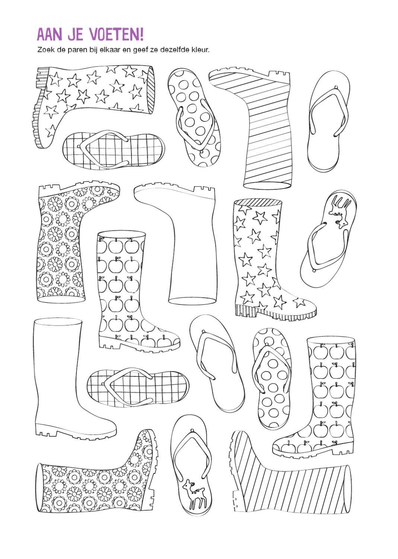Zoek dezelfde en kleuren | A4 | Pinterest | Vorschule ...