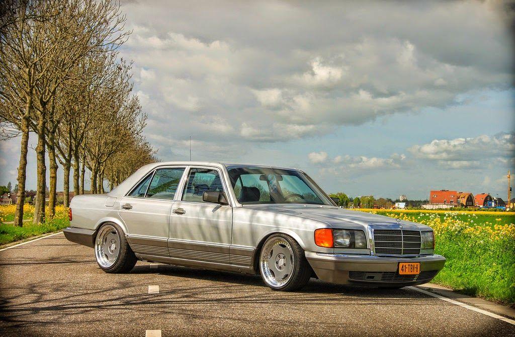 Mercedes Benz W126 500sel On Breyton Wheels Mit Bildern