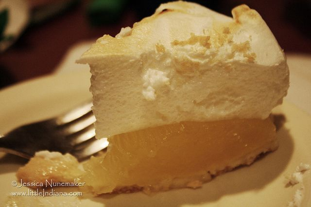 My Lemon Meringue Pie from The Chateau in Mariah Hill, Indiana | Flickr - Photo Sharing!