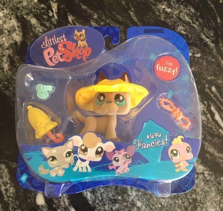 Littlest Pet Shop Fuzzy Grate Dane Original Package 636 New