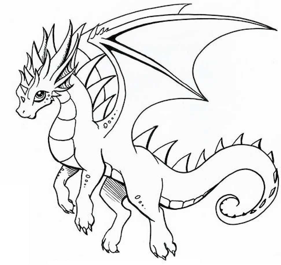 Pin de Coloring Fun en Fantasy | Pinterest | Colorear y Dragones