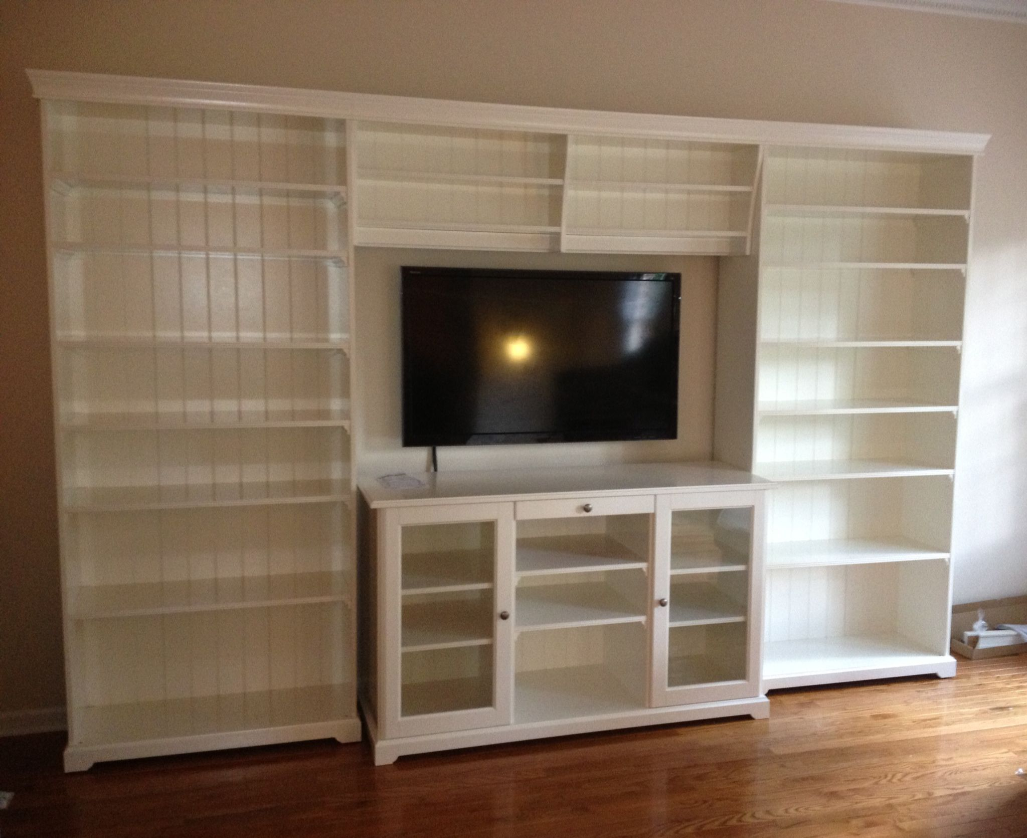 Liatorp tv unit ideas for the house pinterest for Liatorp bookcase hack