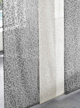 voilage mosa que blanc saint maclou d co pinterest doubles rideaux rideaux sur mesure. Black Bedroom Furniture Sets. Home Design Ideas