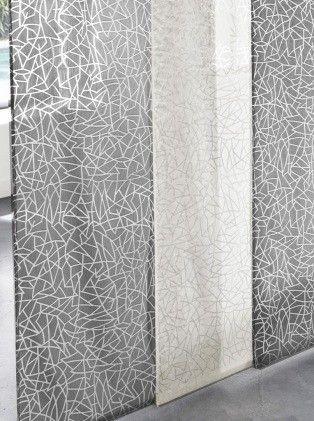 voilage mosa que blanc saint maclou d co in 2019. Black Bedroom Furniture Sets. Home Design Ideas