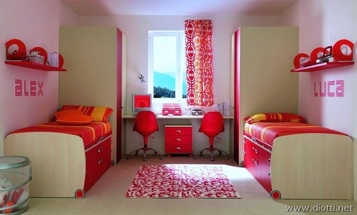 Cameretta arancione ~ Best colori e fantasia la cameretta images