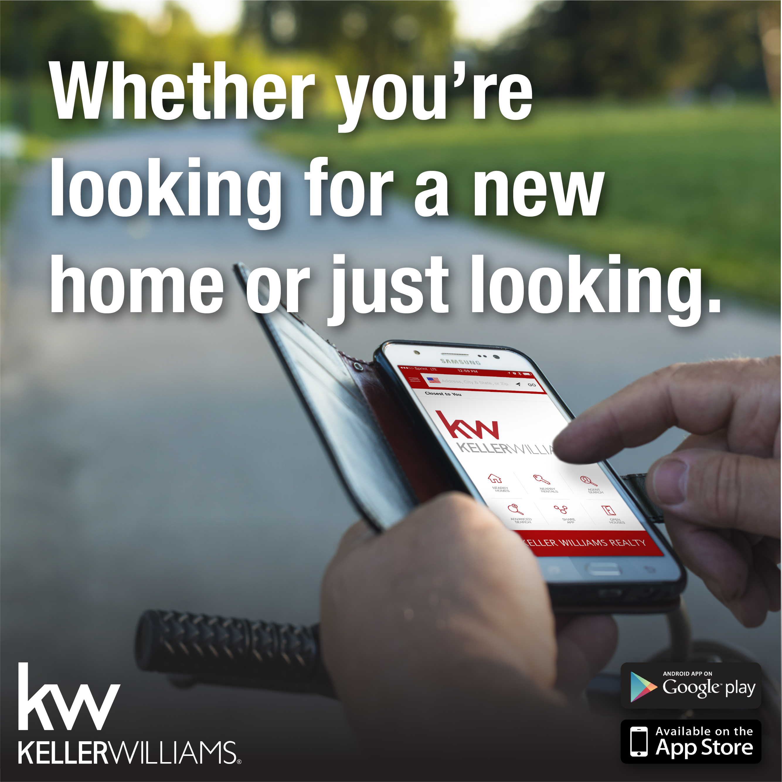 Find your DREAM HOME! Real estate marketing, Mobile app