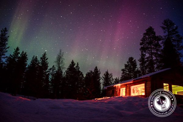 Sweden Northern Lights. From Reflections on One Year of Nomadic Travels: In Photos via @ACruisingCouple