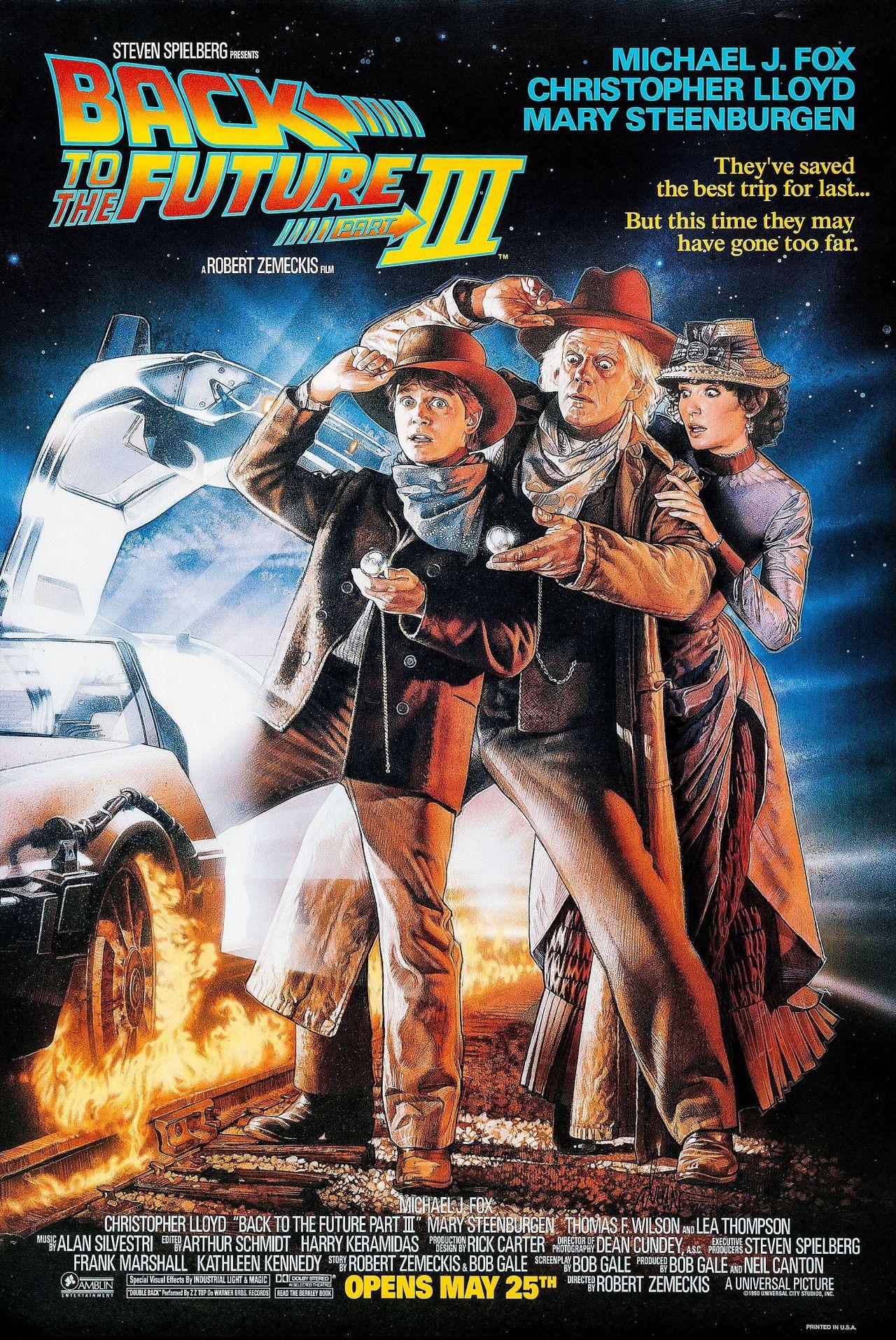 Regreso Al Futuro III (Back to the Future. Part III), de Robert Zemeckis,  1990