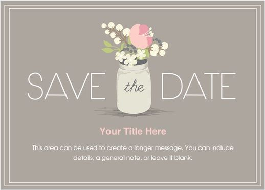 save the date ecards september 13th a modern classic pinterest
