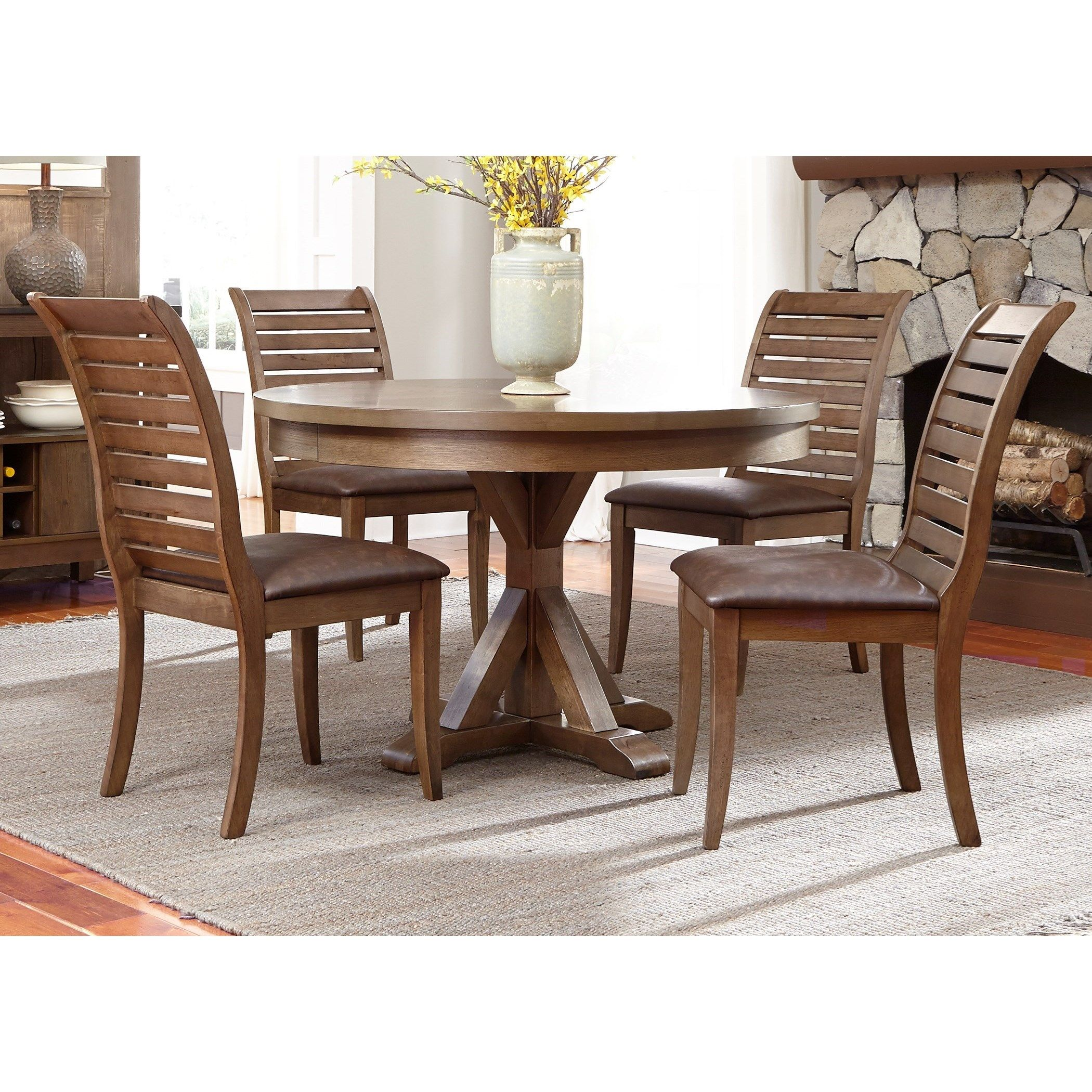 Best Pin By Sharon Welsh On Dining Sets Round Dining Table Sets Ladder Back Dining Chairs 640 x 480