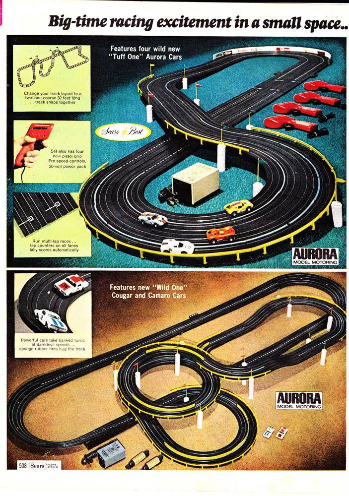 1970 PAPER AD 4 PG Aurora Model Car Race Racing Track Tyco HO Scale Thunderjet
