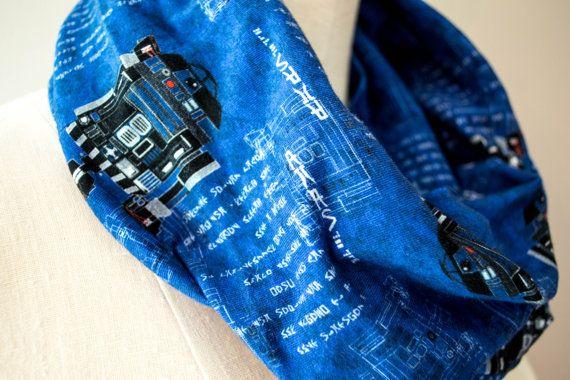 Robo Blueprint Infinity Scarf by StinkeeCheese on Etsy, $30.00 #R2D2, #starwars