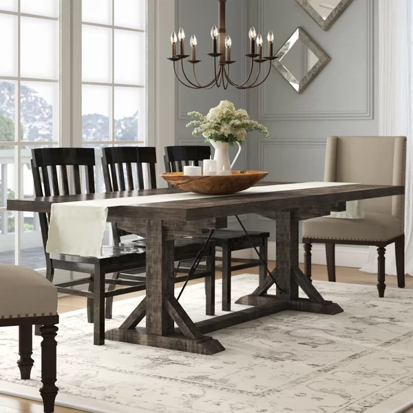 Mcwhorter Extendable Dining Table In 2020 Farmhouse Dining Room