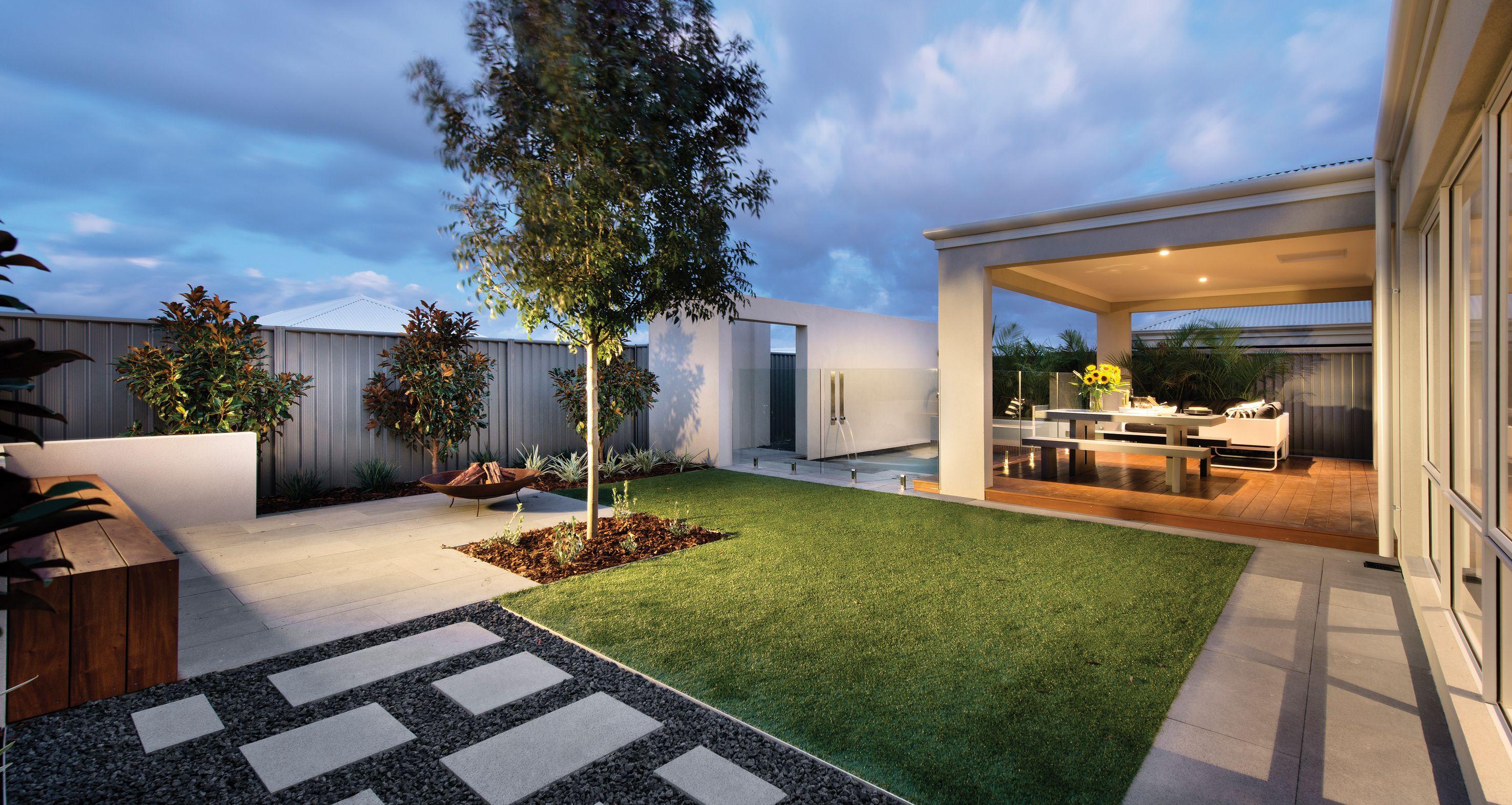 argyle backyard and outdoor entertaining area APG Homes apg