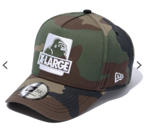 Justin Bieber NEW ERA x X-LARGE Walking Ape Cap camouflage  b394458355c