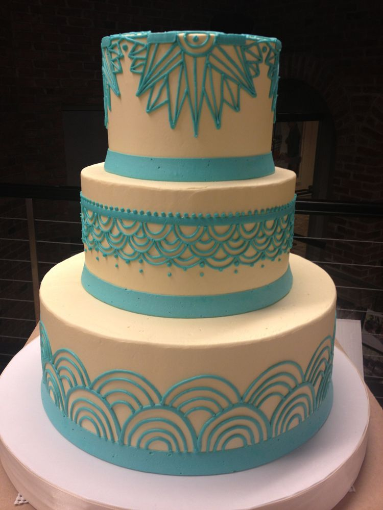 Cake Designs No Fondant : Love this style -- and no fondant!! Buttercream   White ...