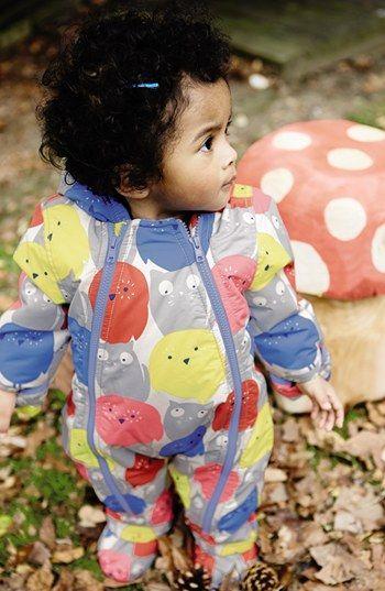 05f219160 Mini Boden Print Waterproof Snowsuit (Baby Girls) | Nordstrom | Snow ...