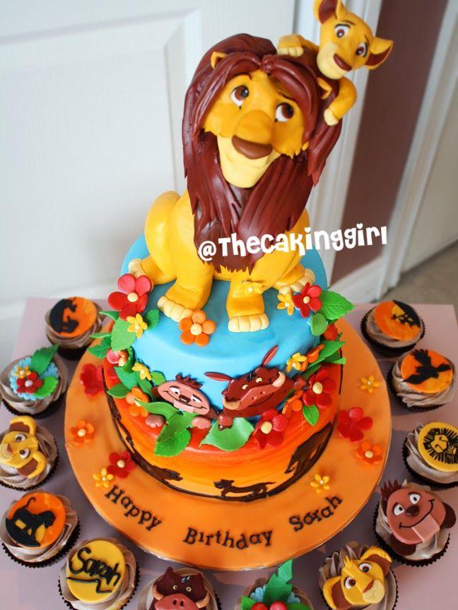 Leo The Lion Cake Beautiful Edibles Pinterest Lion Cakes - Lion birthday cake design