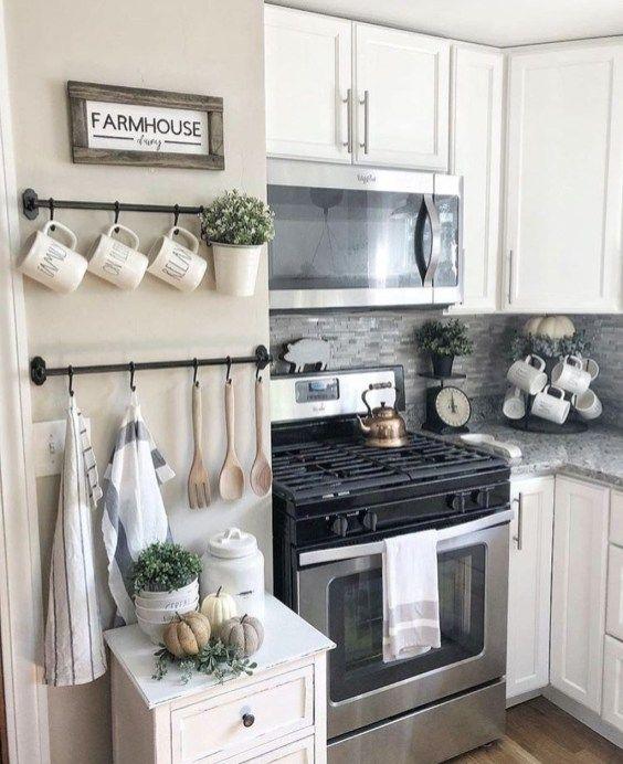 20 Gorgeous Farmhouse Wall Decor Ideas For Home Trendhmdcr Home Decor Kitchen Farmhouse Kitchen Decor Kitchen Wall Decor