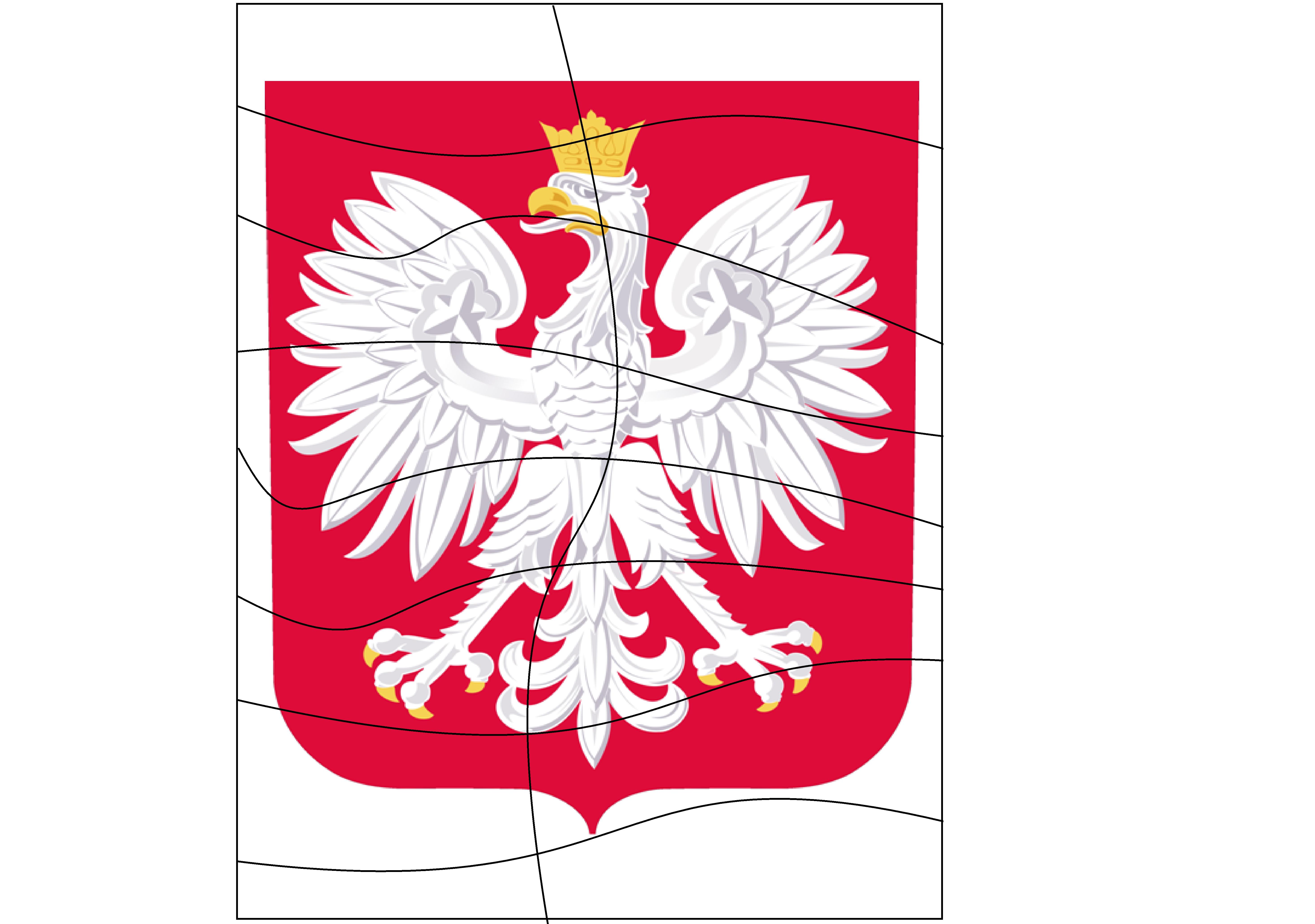 Godlo Polski Ukladanka Moje Dzieci Kreatywnie In 2020 Country Flags Canada Flag Flag