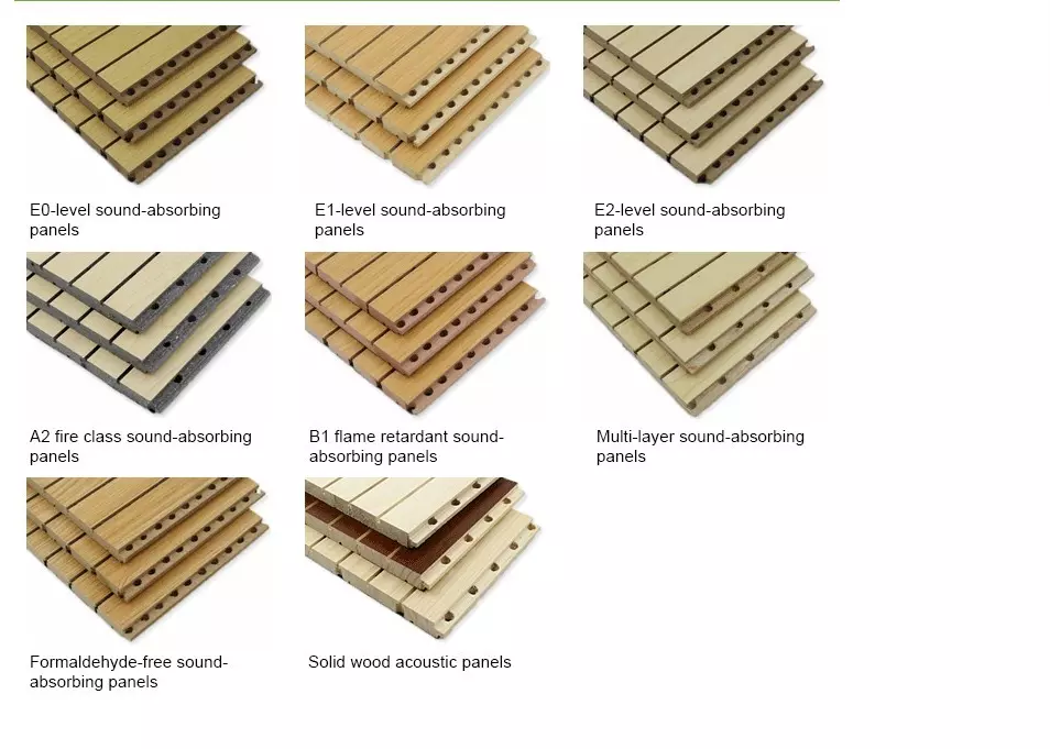 Our Grooved Acoustic Wall Panels Used High Density Mold Proof Fireproof Environmental Eco Pine Wooden As Base Acoustic Wall Movable Walls Wooden Wall Panels