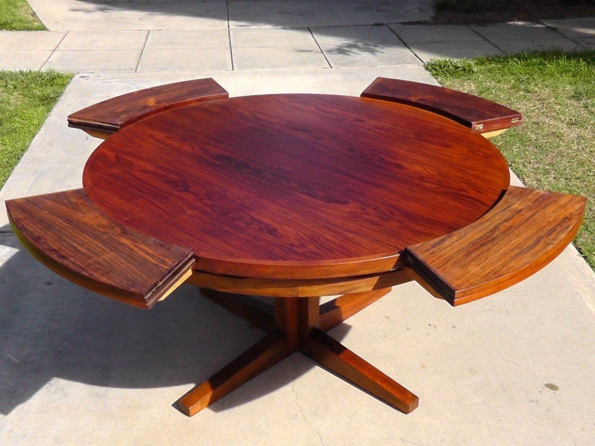 Expandable Round Dining Room Table Elegant Modern Expandable Round Dining Table Loccie Better Homes In 2020