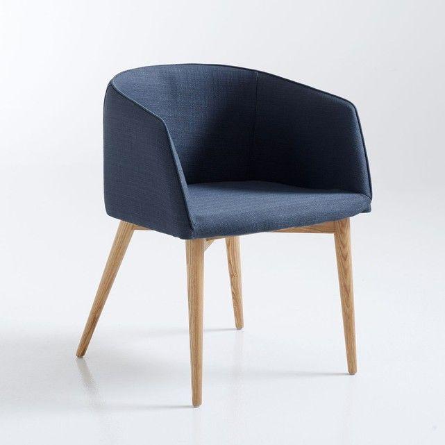 Le Fauteuil De Table Clancy Enveloppant Et Confortable Caracteristiques Structure En Aci Fauteuil De Table Fauteuil Bureau Design Fauteuil Salle A Manger