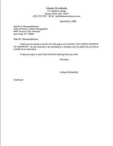 cover letter template short
