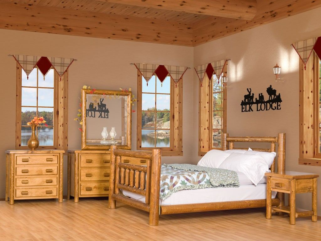 lodge style bedroom furniture interior design mondean