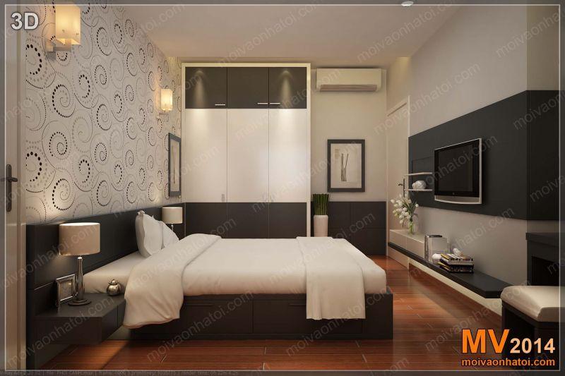 Custom Bedroom Design Of Nam Do Apartment Complex Interior