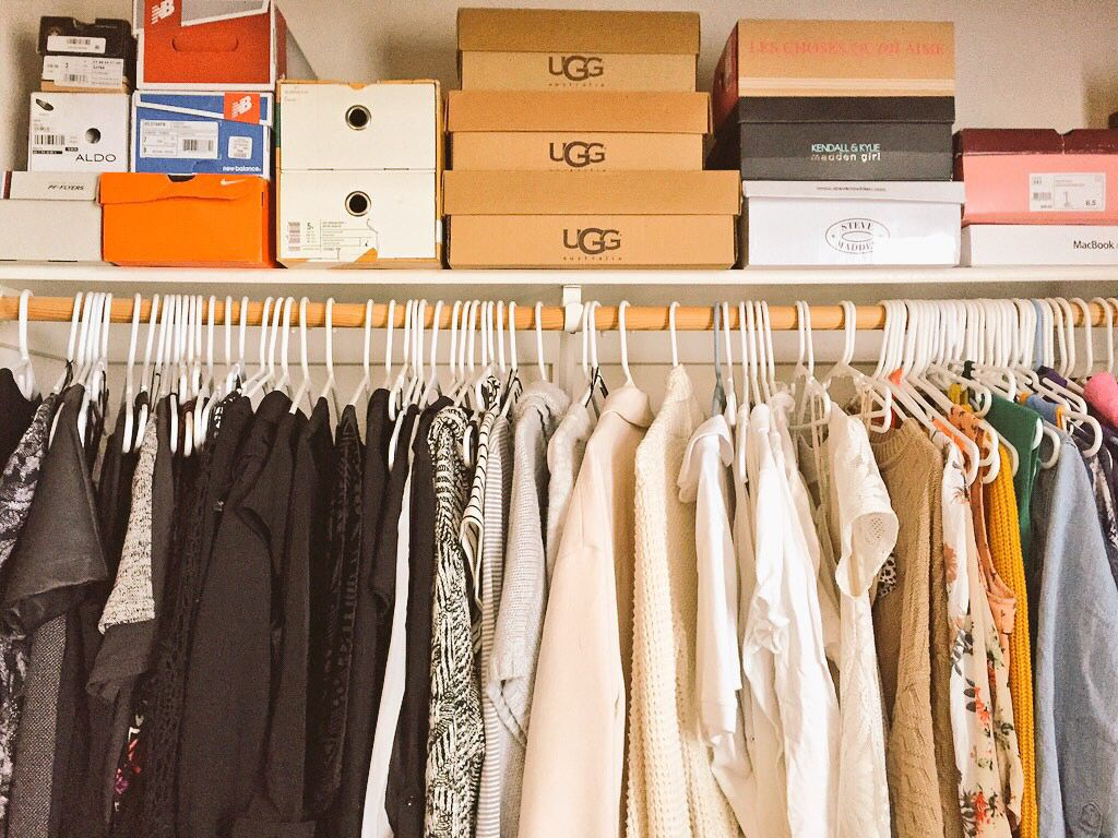 Color coordinated closet (With images) | Color coordinated closet. Home. Home decor