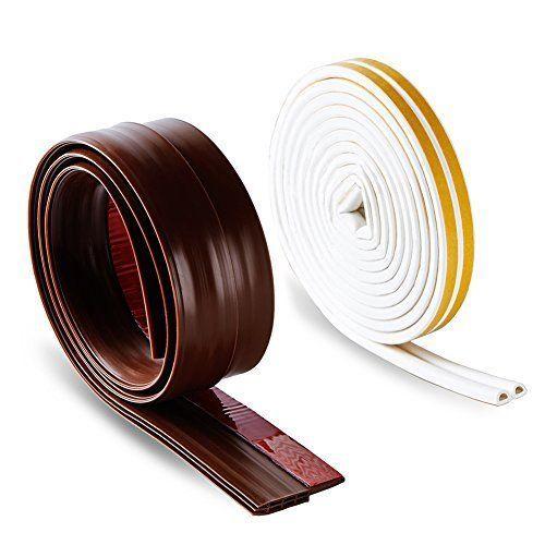 Self Adhesive Rubber Weatherstrip Seal Windows Door Sweep Bottom Draft Kit  Block | Door Sweep, Door Kits And Adhesive