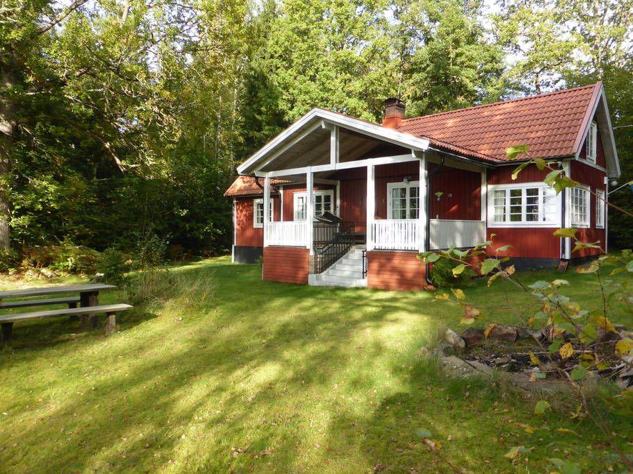 Haus in Älmhult, Schweden. Unser Ferienhaus liegt direkt