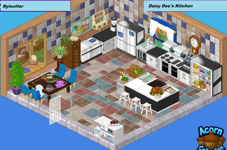 Room Designed Using High End Kitchen Items From Facebook Contest
