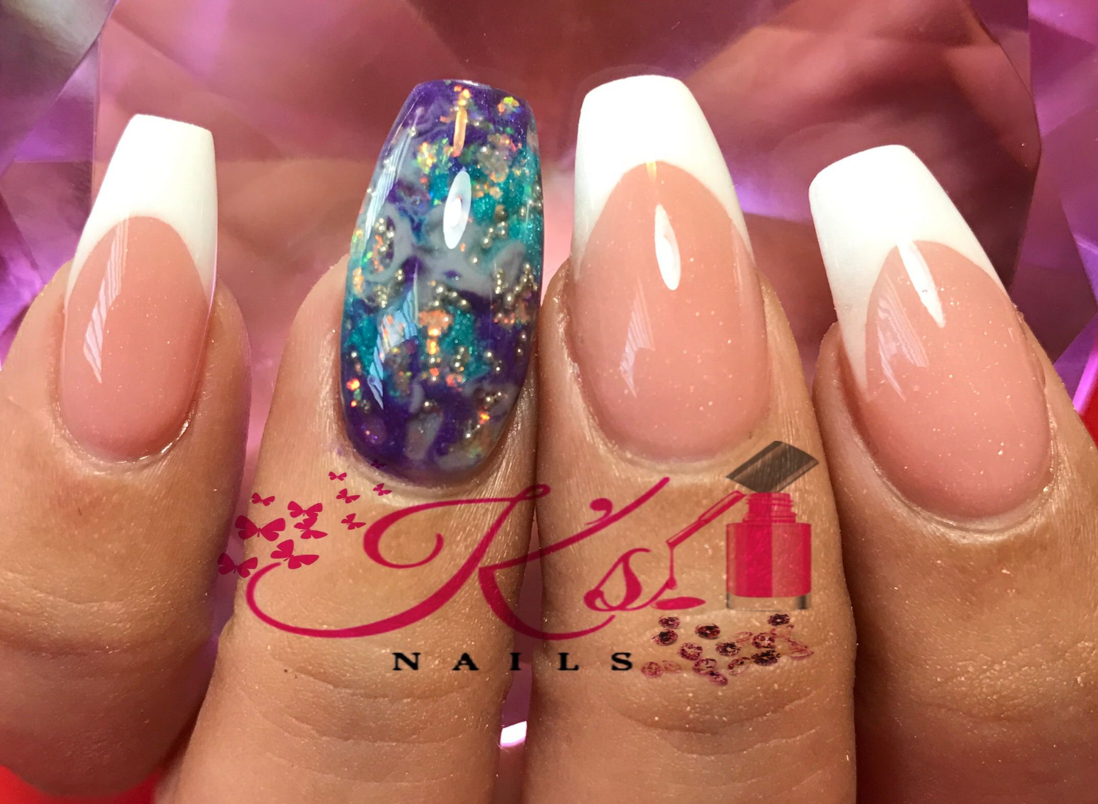 Pin by Kelly Lopez on Nails by Kelly   Nail art, Nails, Beauty